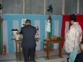 西野神社が執行する上棟祭