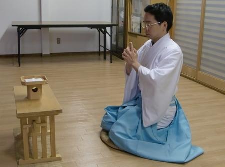 本田流鎮魂法の実践