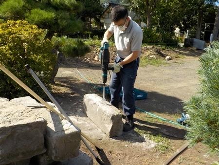 石材の切断