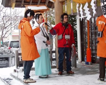 平成20年12月 STVラジオ「ときめきワイド」中継