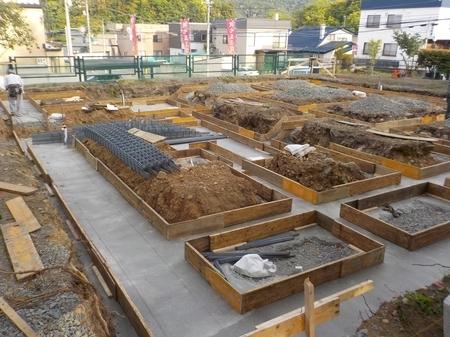 西野神社参集殿 建設工事中