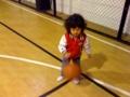 親子バスケット練習
