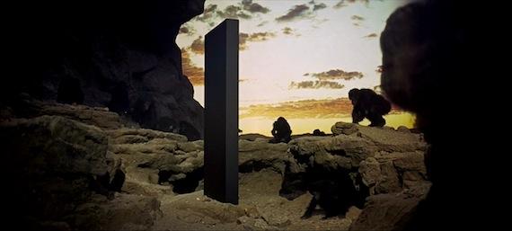 「2001年宇宙の旅」モノリス