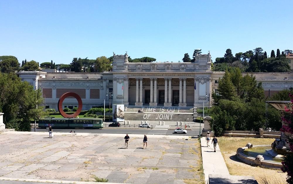 ローマ国立近代美術館の外観