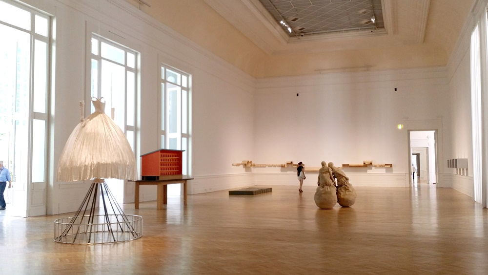 ローマ国立近代美術館の内部