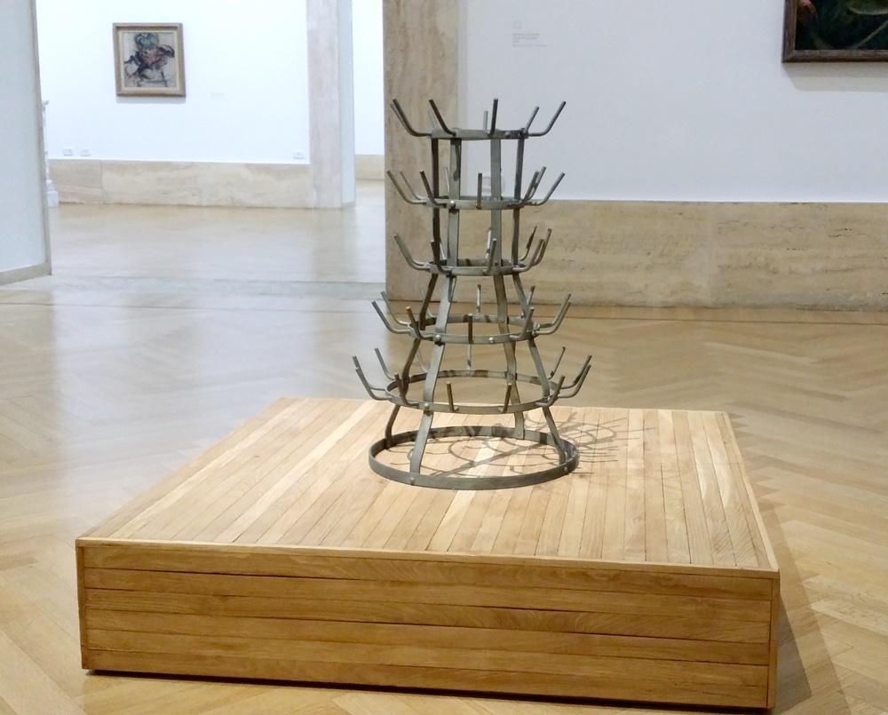 ローマ国立近代美術館のデュシャン