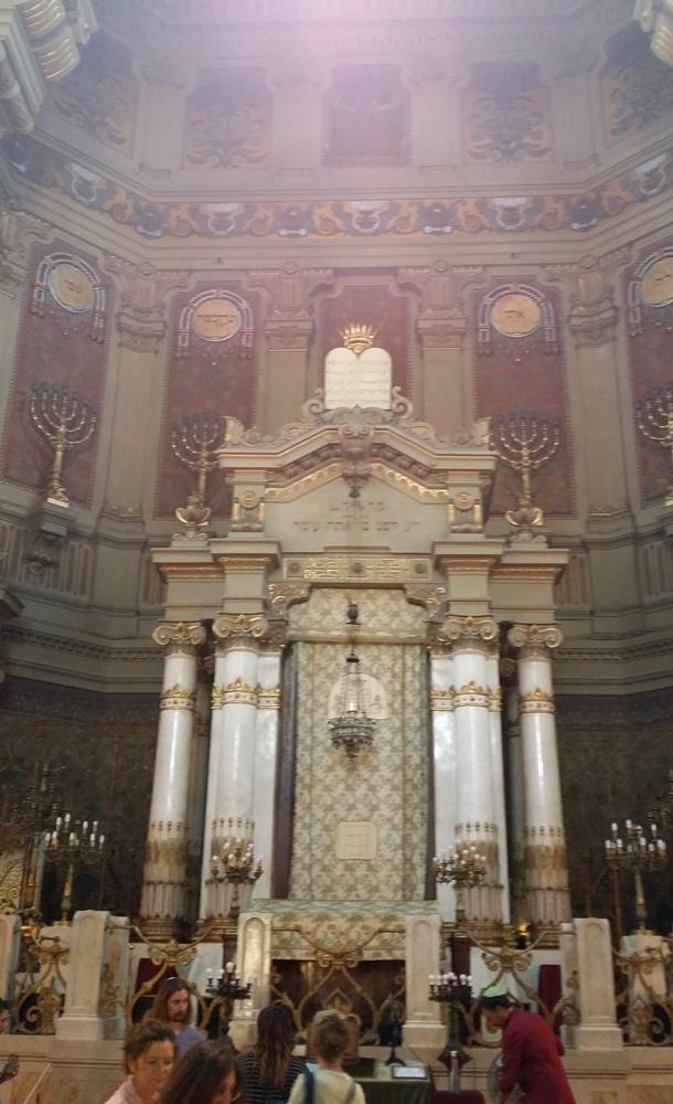 ローマのシナゴーグの内部