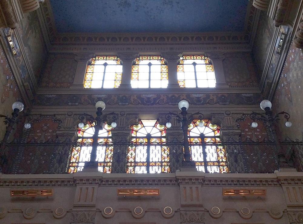 ローマのシナゴーグの内装