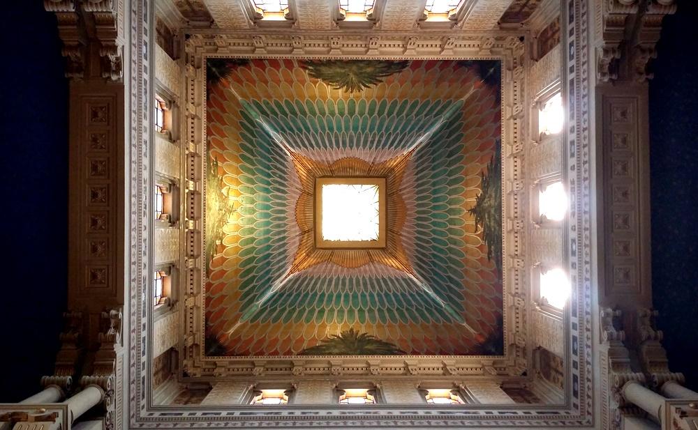 ローマのシナゴーグの天井