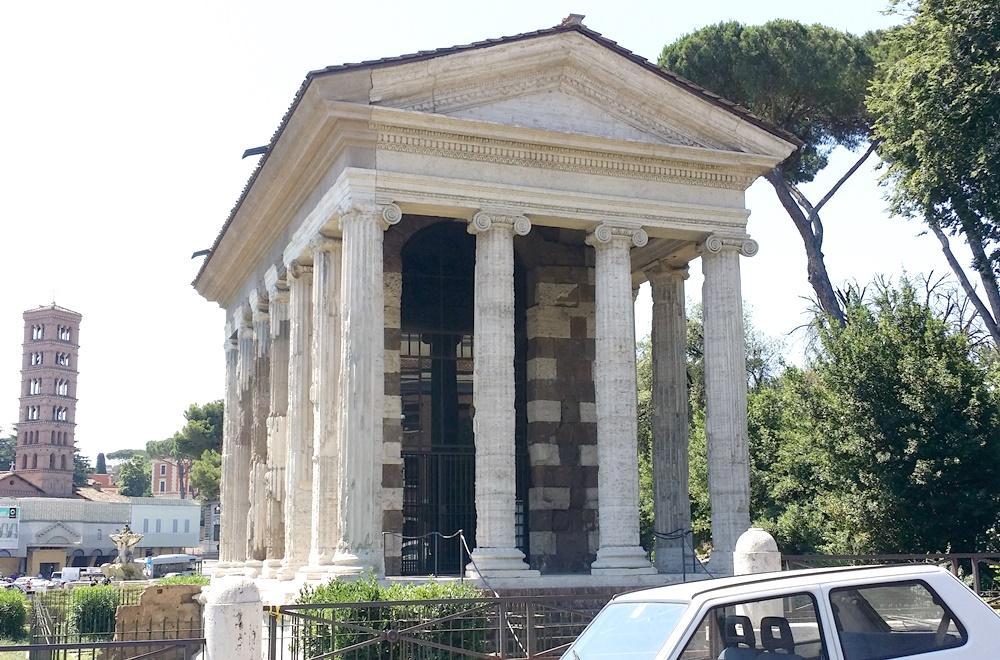 フォルトゥーナ(ポルトゥヌス)神殿