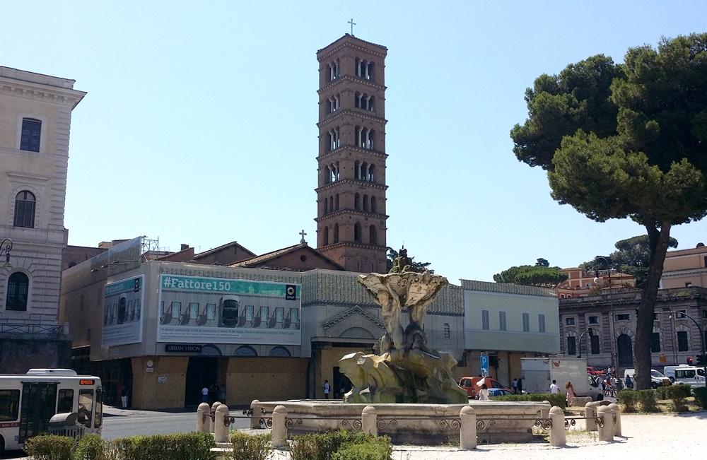 サンタマリア・イン・コスメディン教会