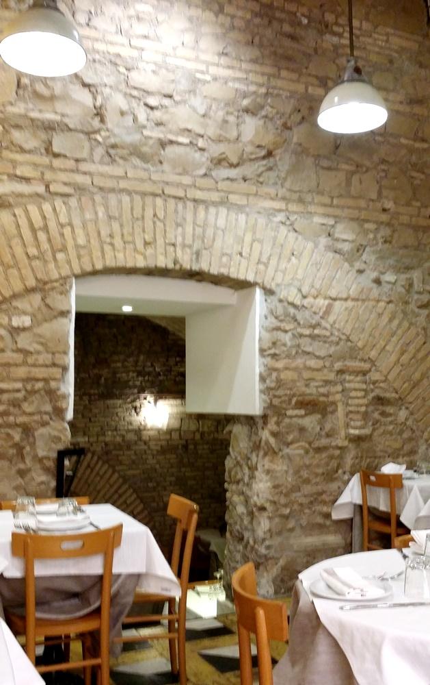 ユダヤ系レストランBaghetto内部