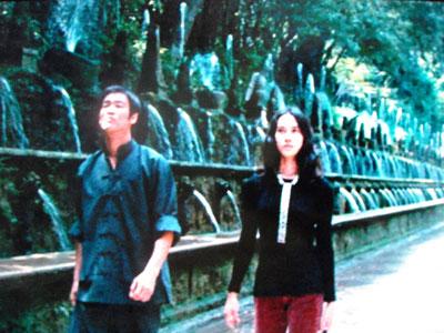 ブルース・リーと百の噴水
