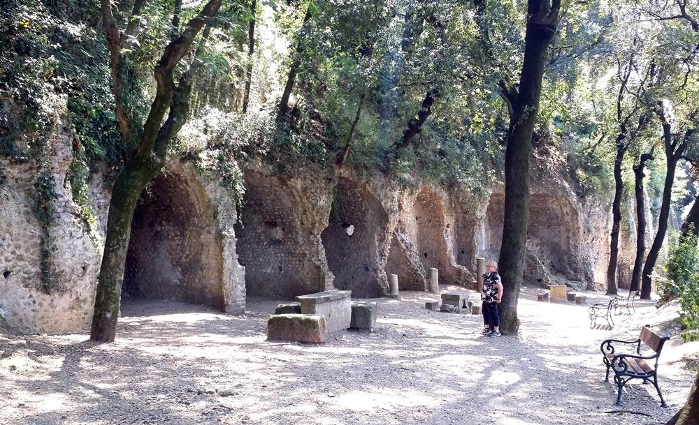 グレゴリウス法王の別荘の遺跡