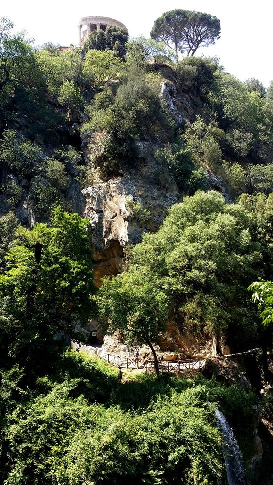 グレゴリウス法王の別荘の泉