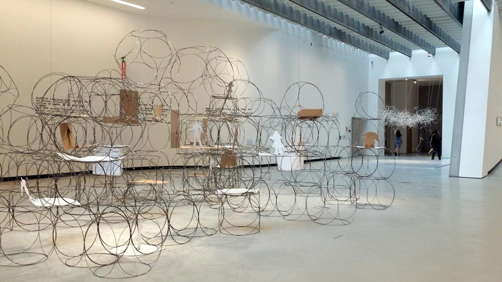 イタリア国立21世紀美術館企画展