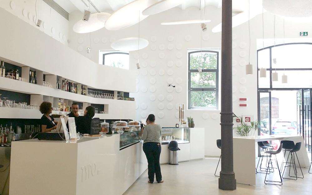 イタリア国立21世紀美術館カフェ