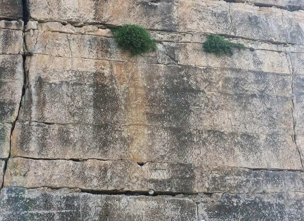 ピスコ・モンターノの壁面
