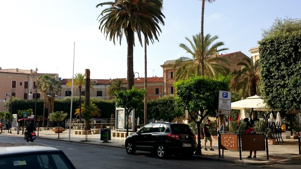 テッラチーナのガリバルディ広場