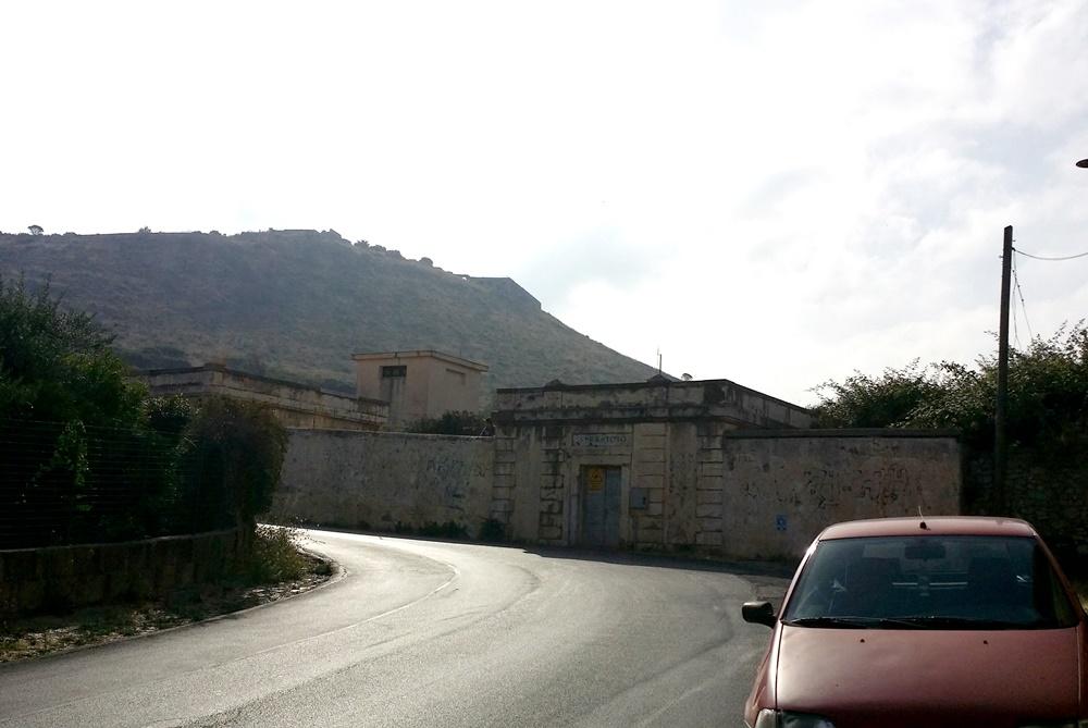 山頂のユピテル神殿