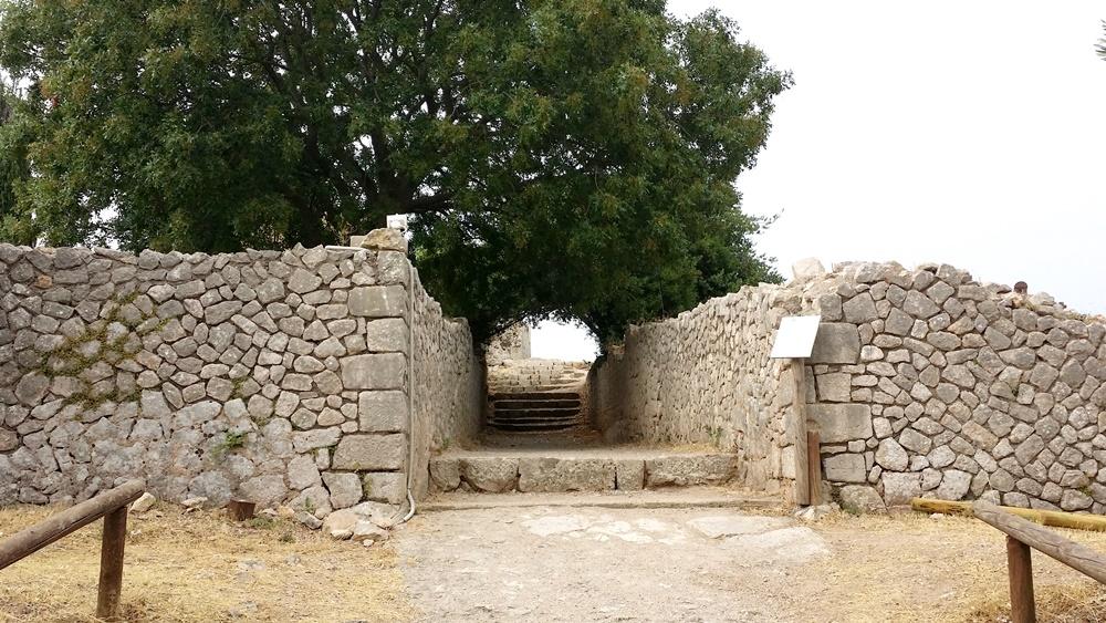 ユピテル神殿の看板