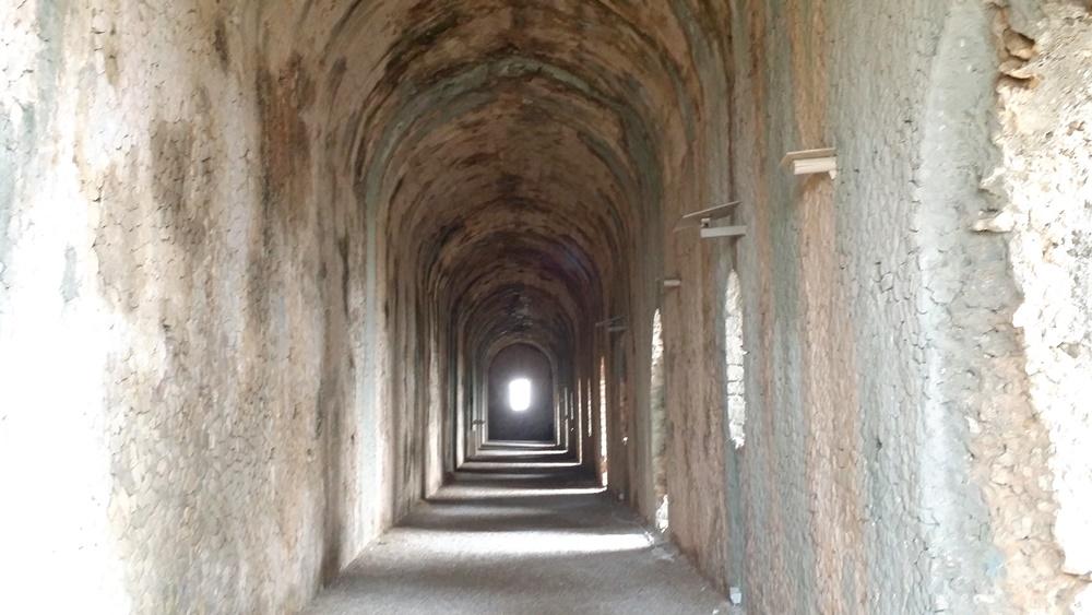 ユピテル神殿の中