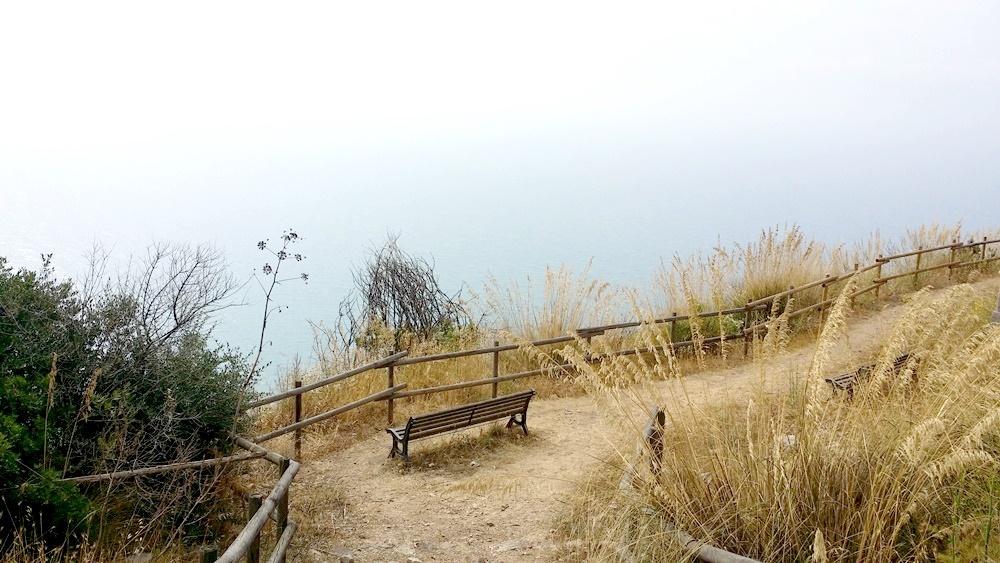 ユピテル神殿から海を臨む