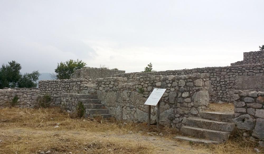 ユピテル神殿の基礎