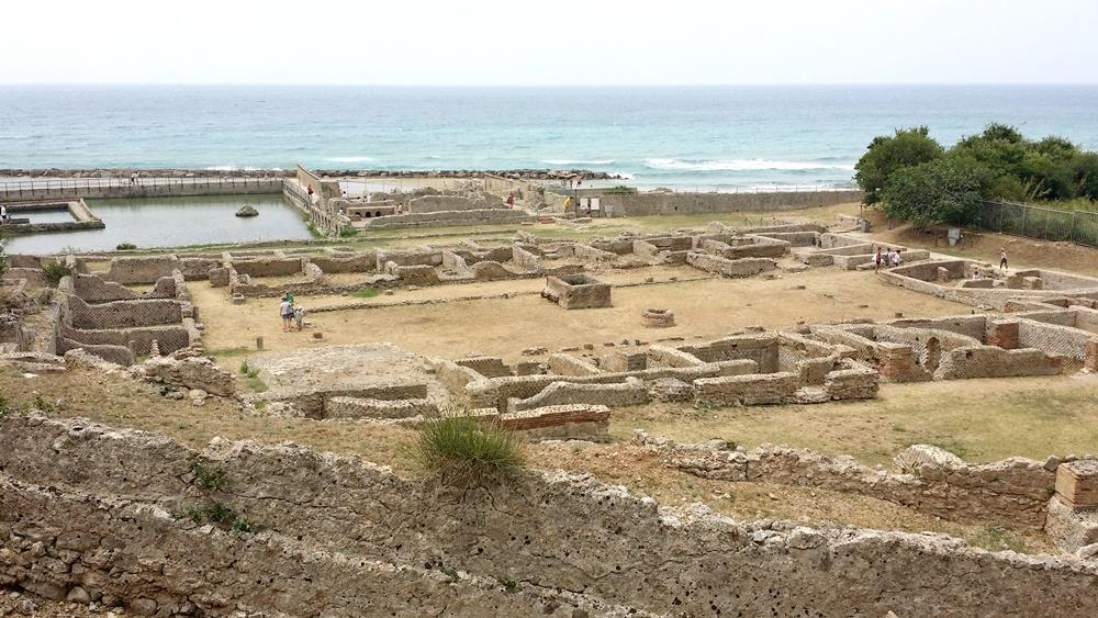 ティベリウスの洞窟の遺跡