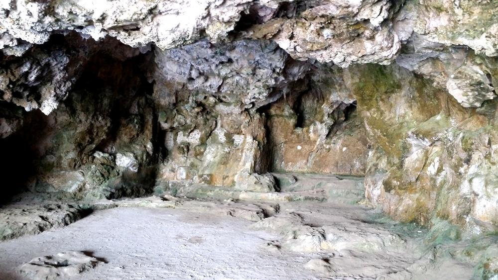 ティベリウスの洞窟の奥