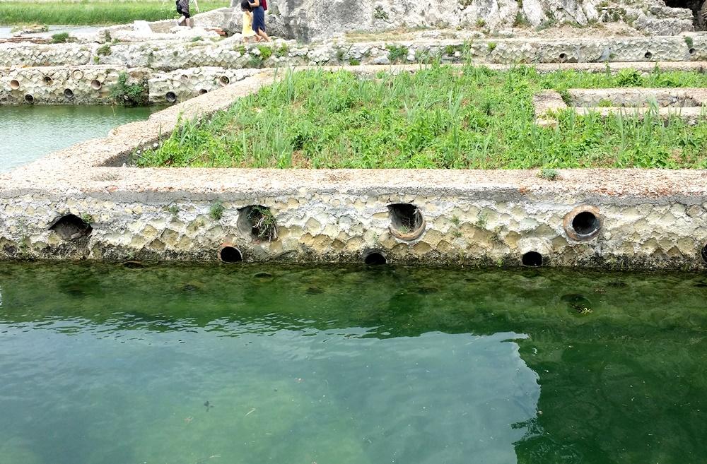 ティベリウスの洞窟の水