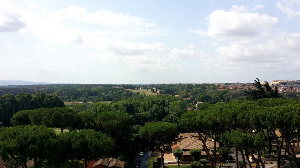 サン・セバスティアーノ門からの眺望