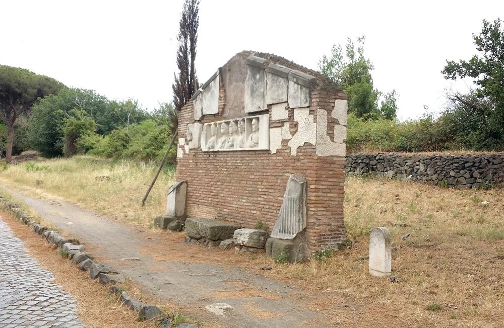 アッピア街道の遺跡