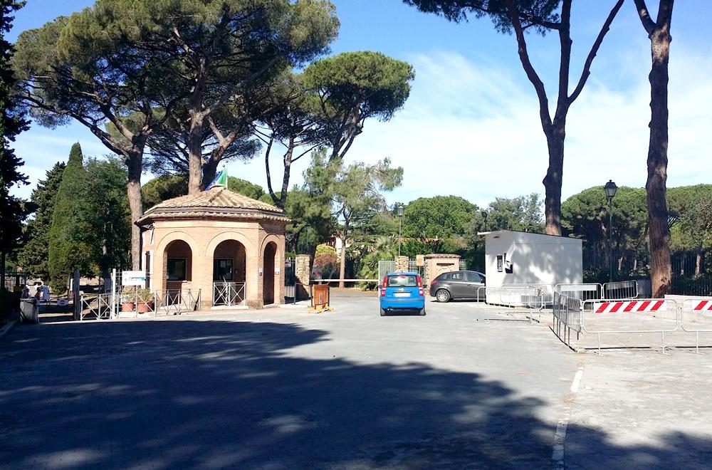オスティア・アンティカの入り口