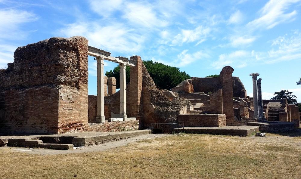 オスティア・アンティカの浴場
