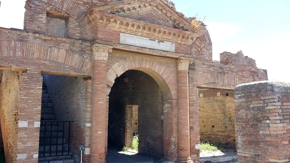 オスティア・アンティカの遺跡