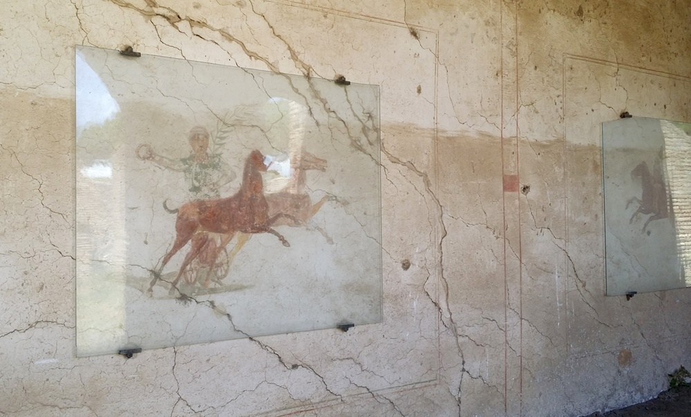 オスティア・アンティカの壁画