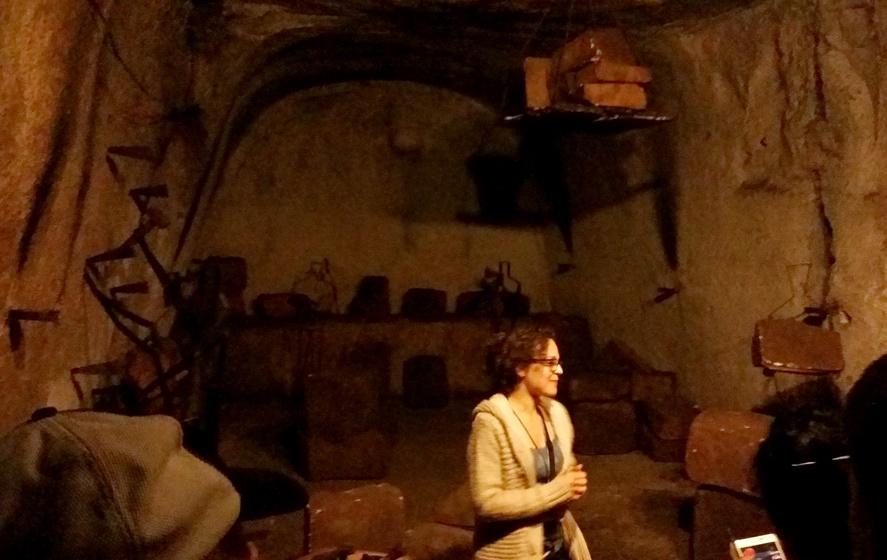 ナポリ地下都市ツアーの解説