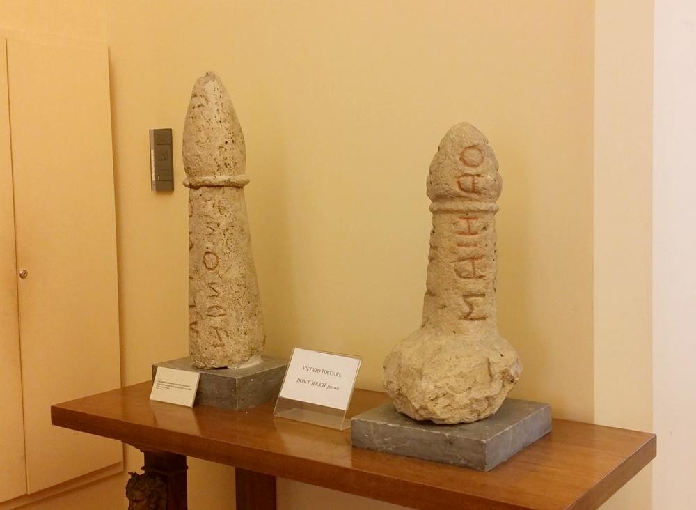 ナポリ考古学博物館の秘密の小部屋