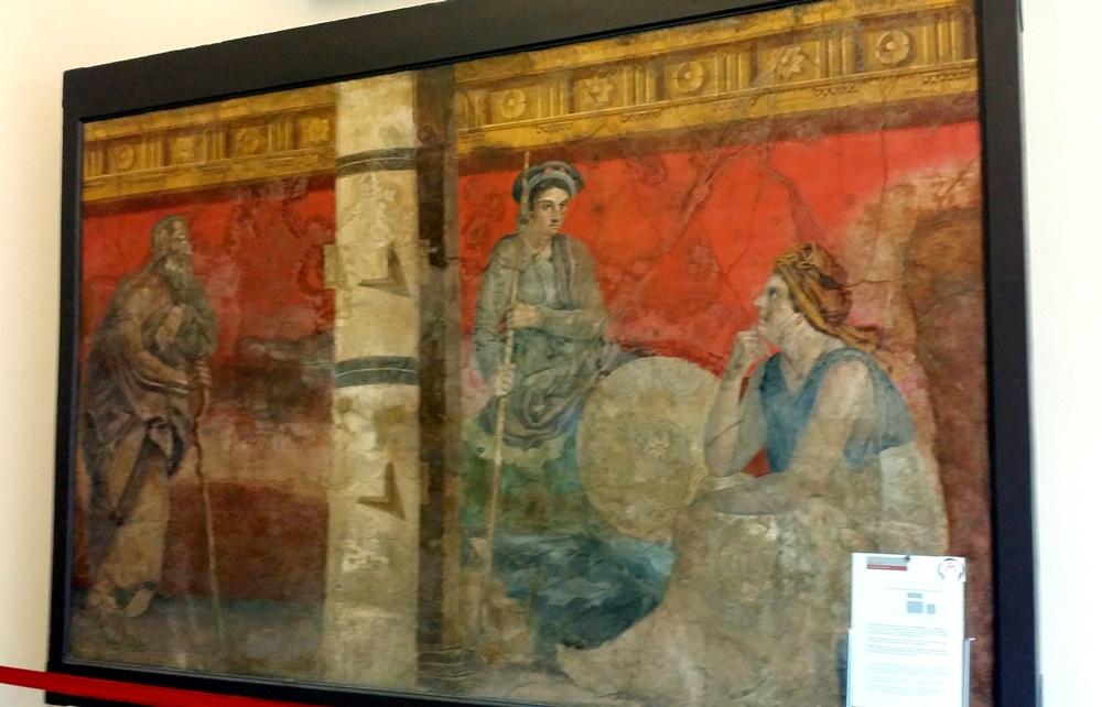 古代ローマの壁画