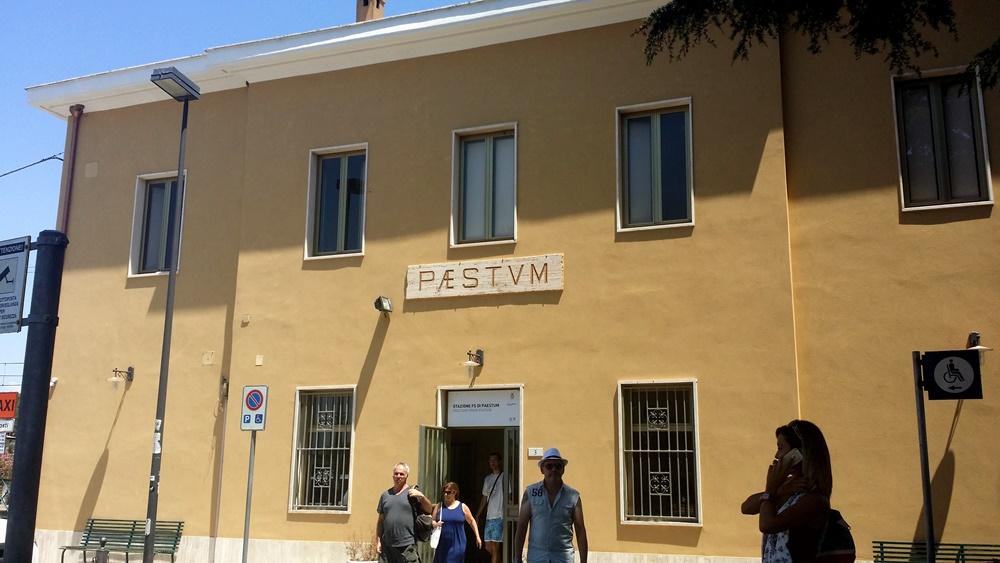 パエストゥムの駅