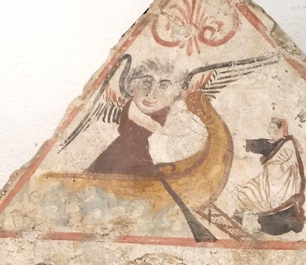 パエストゥムの壁画