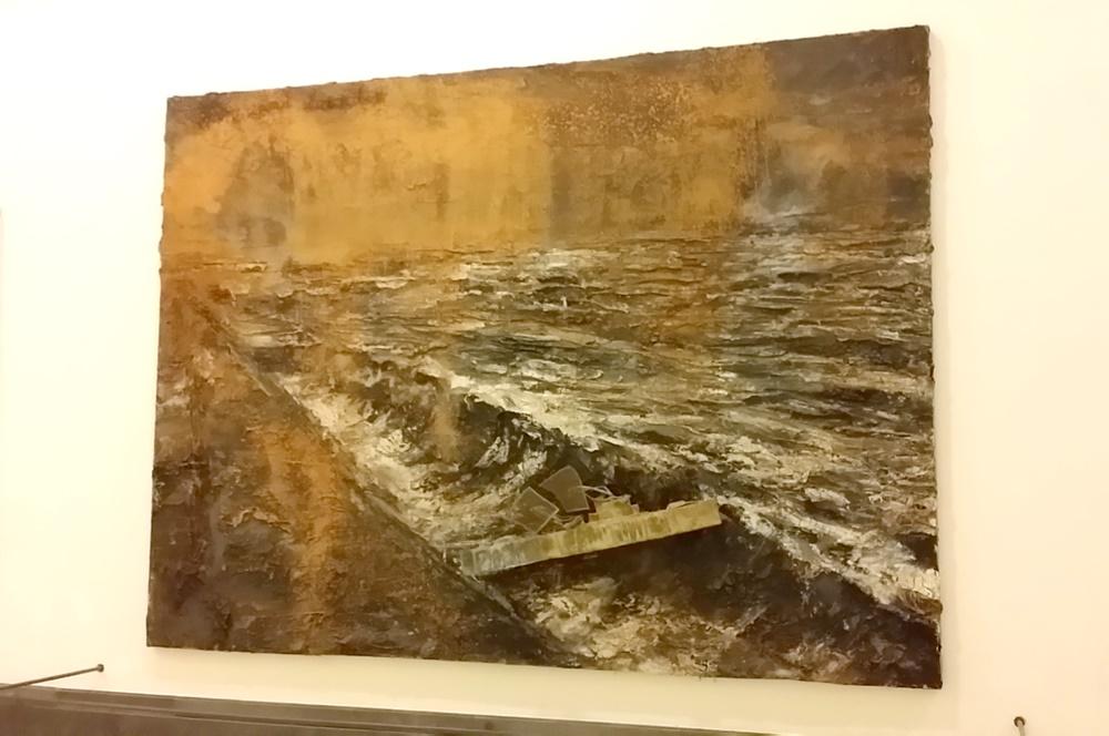 カポディモンテ美術館のキーファー