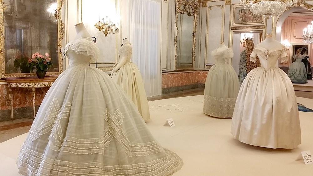 ヴィッラ・ピニャテッリの衣裳展