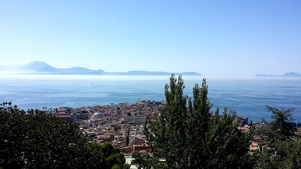 国立サン・マルティーノ美術館からのカプリ島