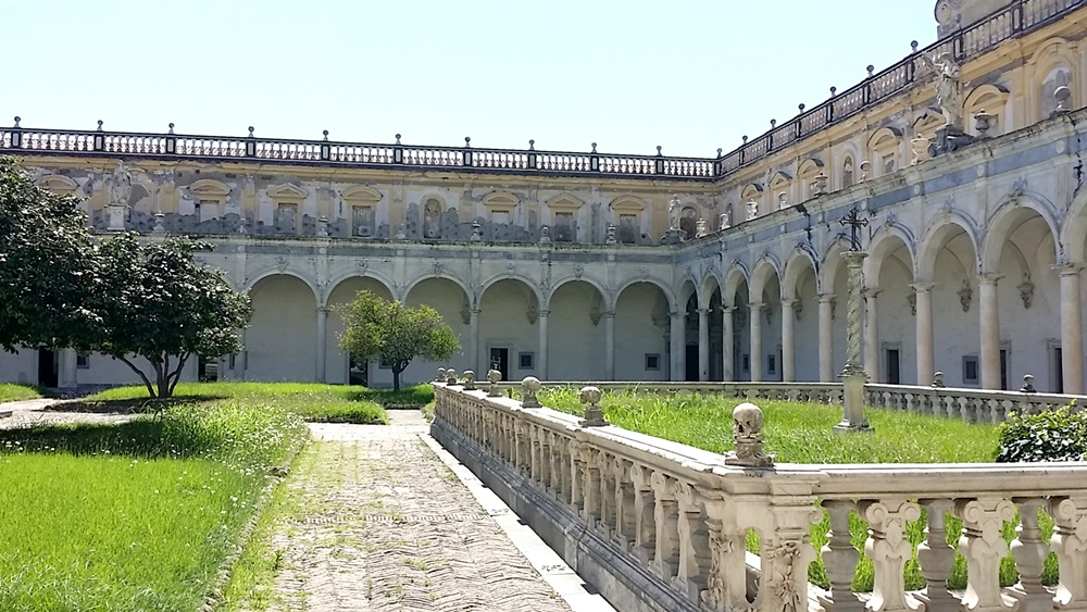 国立サン・マルティーノ美術館のキオストロ