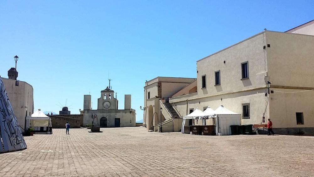 サンテルモ城の屋上