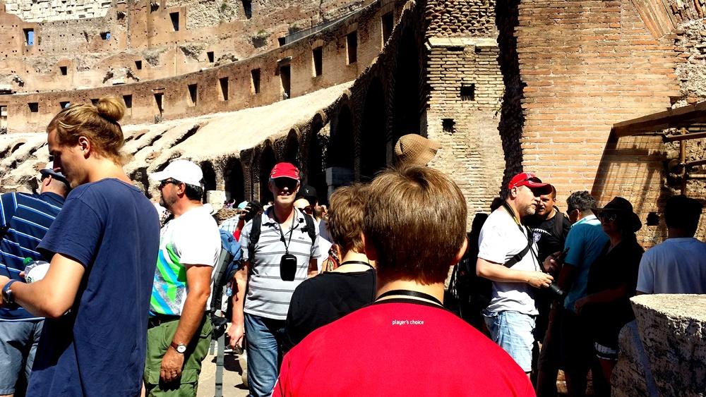 コロッセオの2階