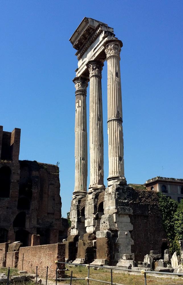 カストルとポルックスの神殿