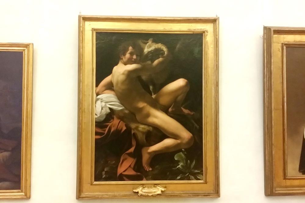 カラヴァッジョの「洗礼者ヨハネ」